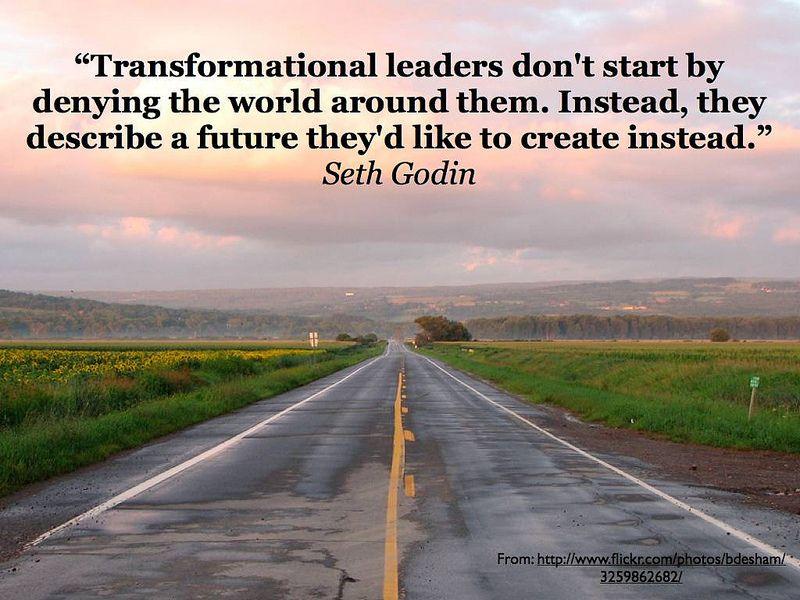 Transformational Leadership seth godin Pinterest