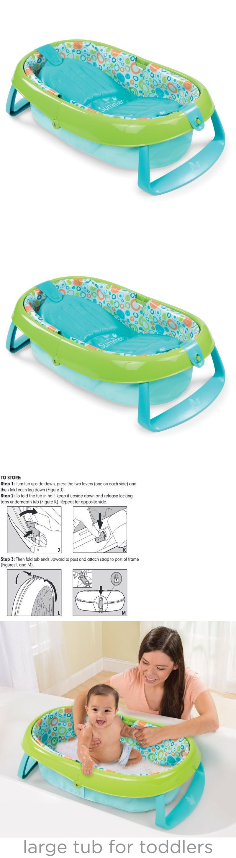 Infant Baby Bath Tub Ring Safety Seat Anti Slip Plastic Chair ...