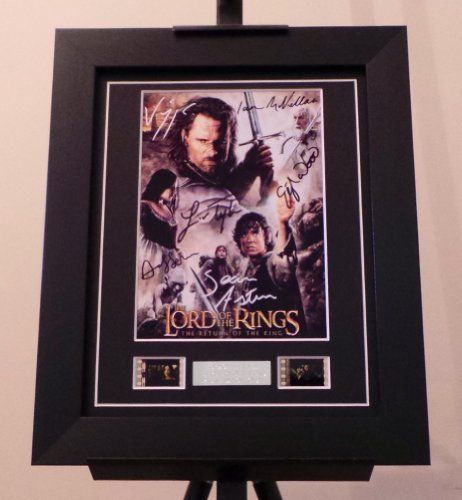 Lord of the Rings Signed  Lord of the Rings Return of the King Film Cell Framed @ niftywarehouse.com #NiftyWarehouse #LOTR #LordOfTheRings #Movies #Geek #Nerd #Books #Fantasy
