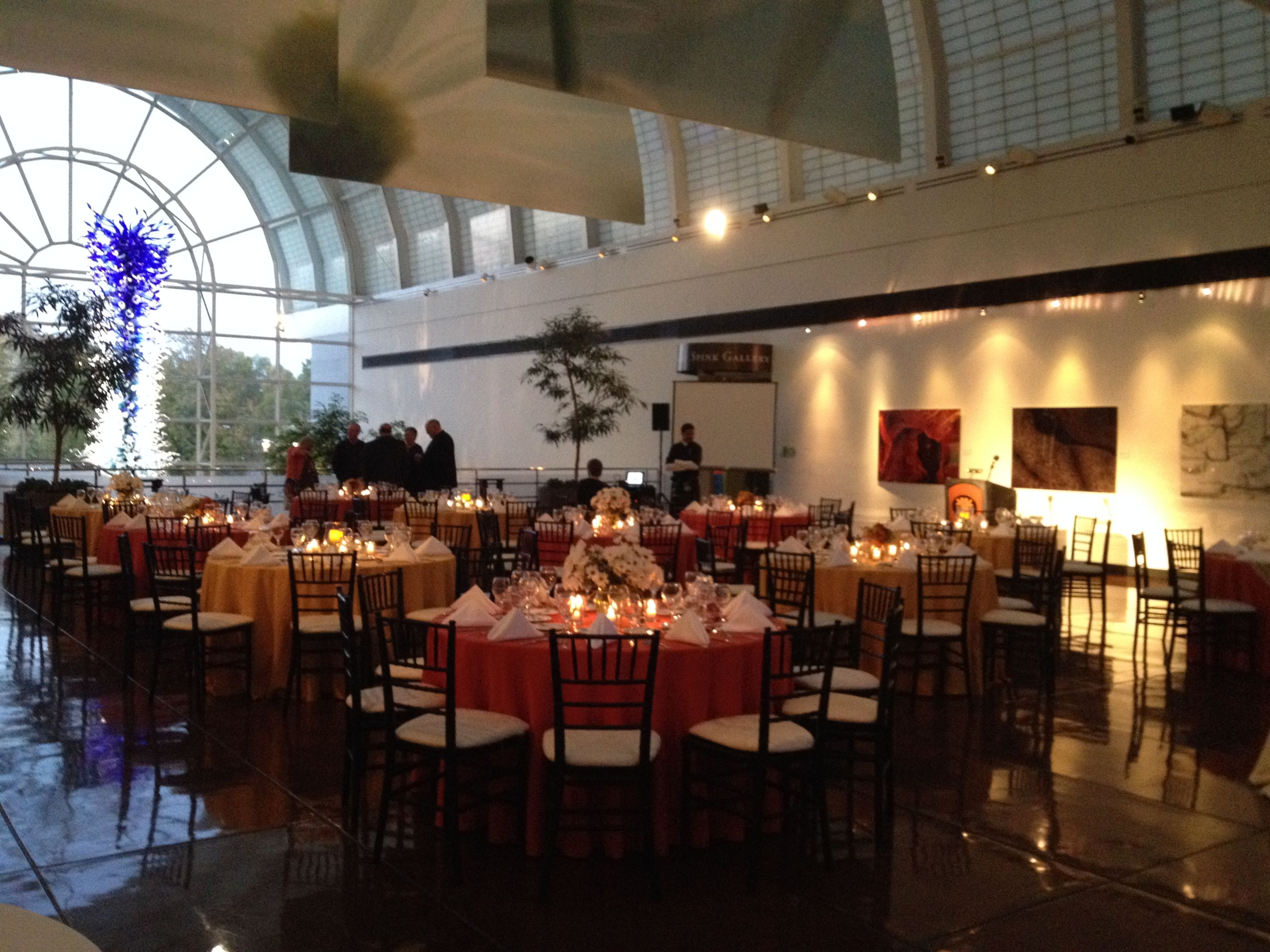 Corporate Event in Monsanto Hall at the Missouri Botanical