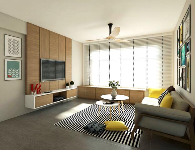 Interior Design Firm Singapore Interior Design Interior Design Living Room Window Seat Design