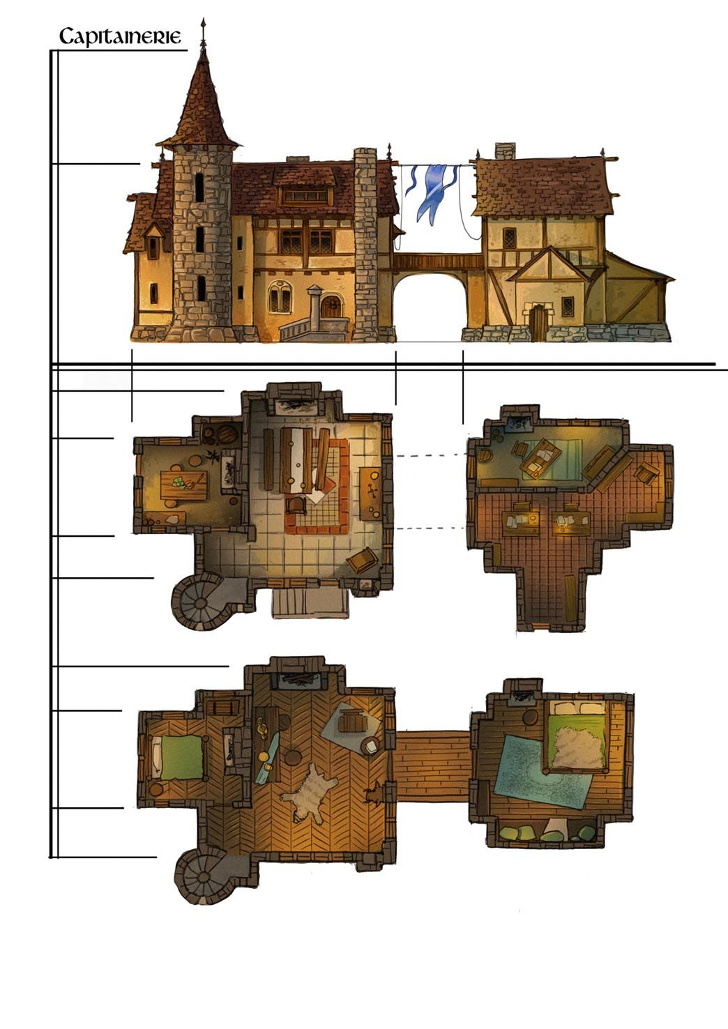 1044 1476 fantasy rpg pinterest Good house map