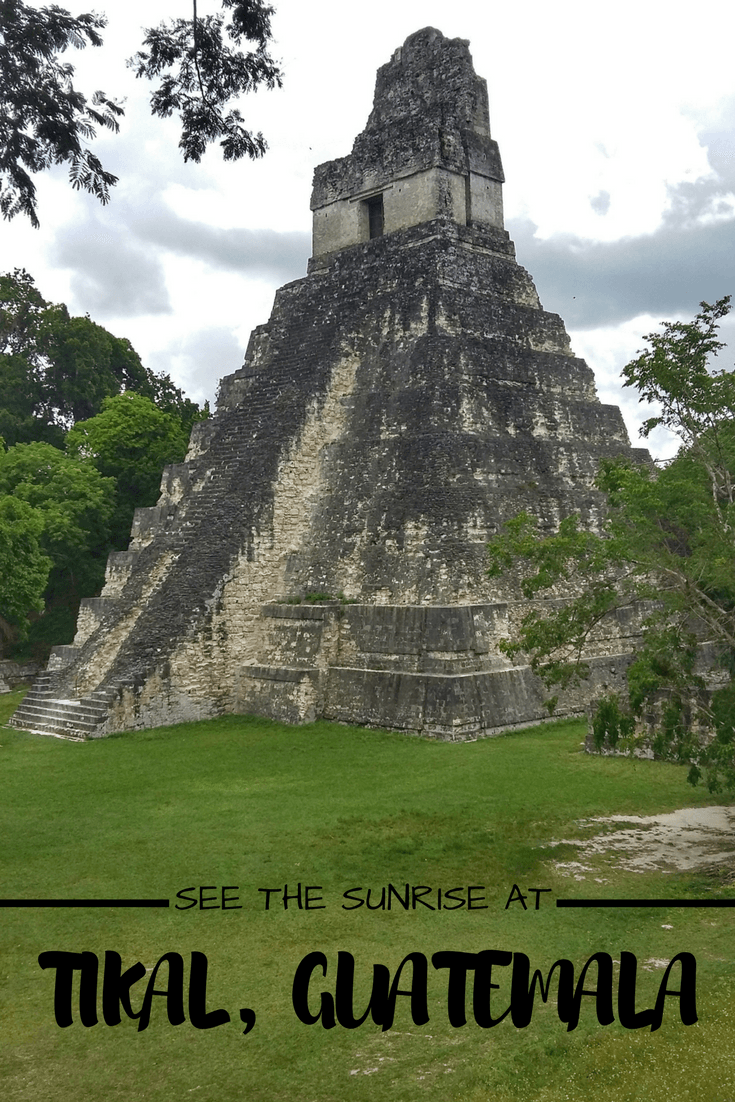 Tikal Sunrise Camping At Tikal Guatemala Guatemala Travel Panama Travel Tikal