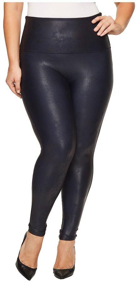 60d13ebae78451 Spanx Plus Size Faux Feather Leggings Women's Casual Pants | Women's ...