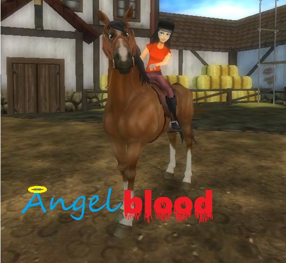 Bem aqui esta minha conta, o nome do cavalo no caso égua é AngelBlood