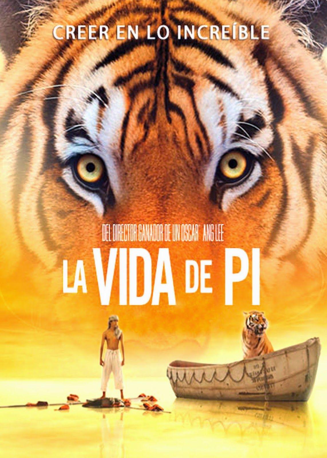 Cine Sinopsis Y Peliculas Para Descargar La Vida De Pi 2012 Aventuras Tras Un Naufragio En Medio Del Oceano Life Of Pi Life Of Pi Poster Life Of Pi Movie