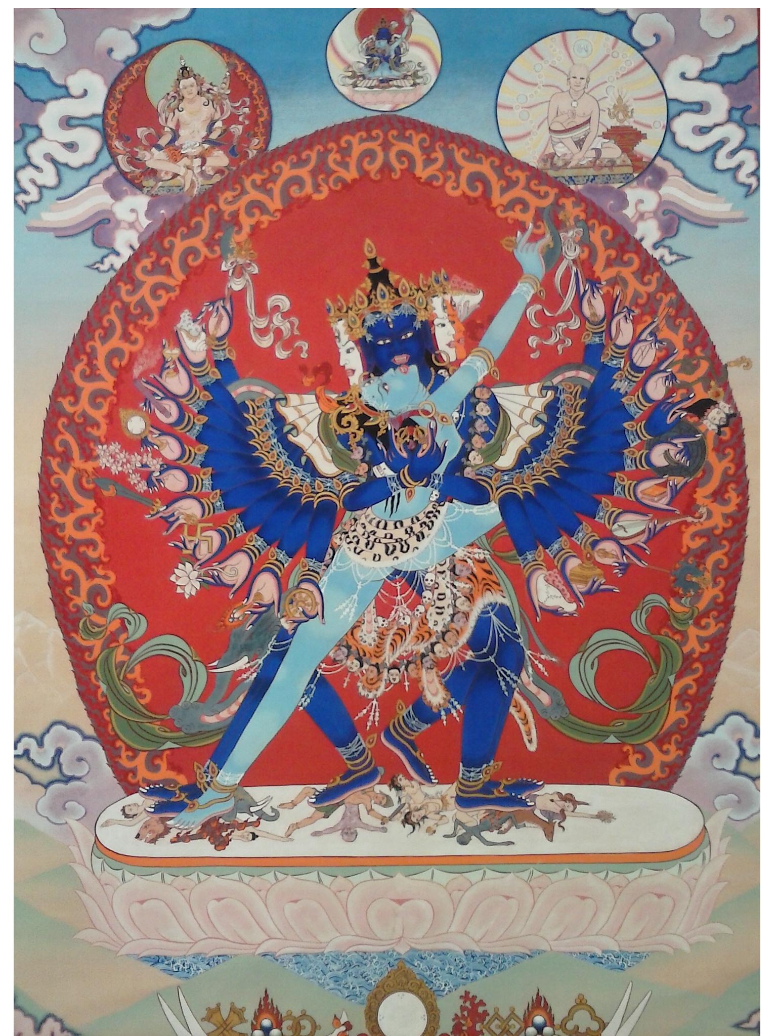 Пин на доске Bön Dzogchen