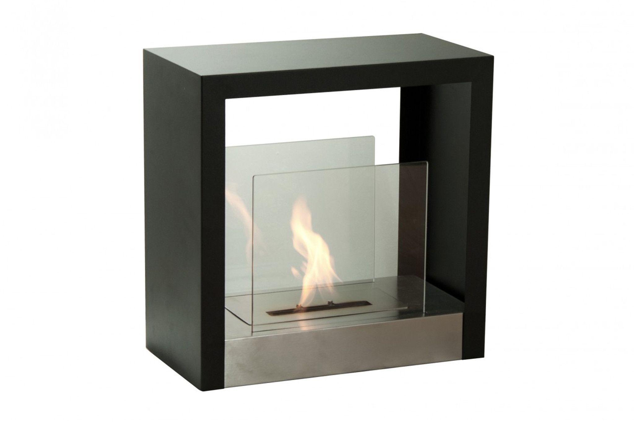 tectum s freestanding ventless ethanol fireplace pinterest