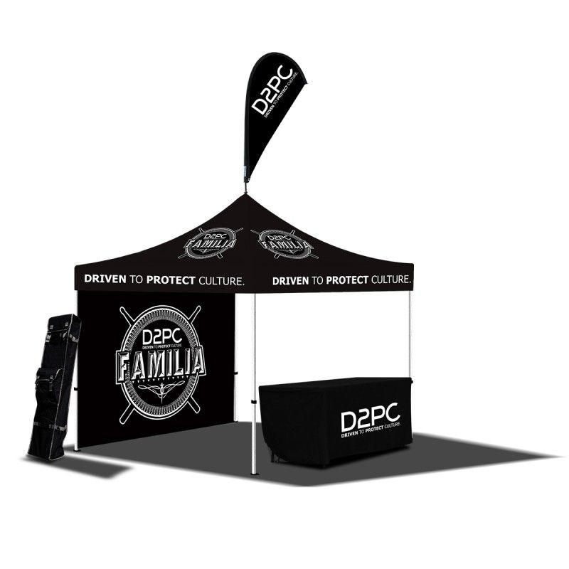 Deluxe Festival Kit | 10x10 tent, Digital and Exhibit