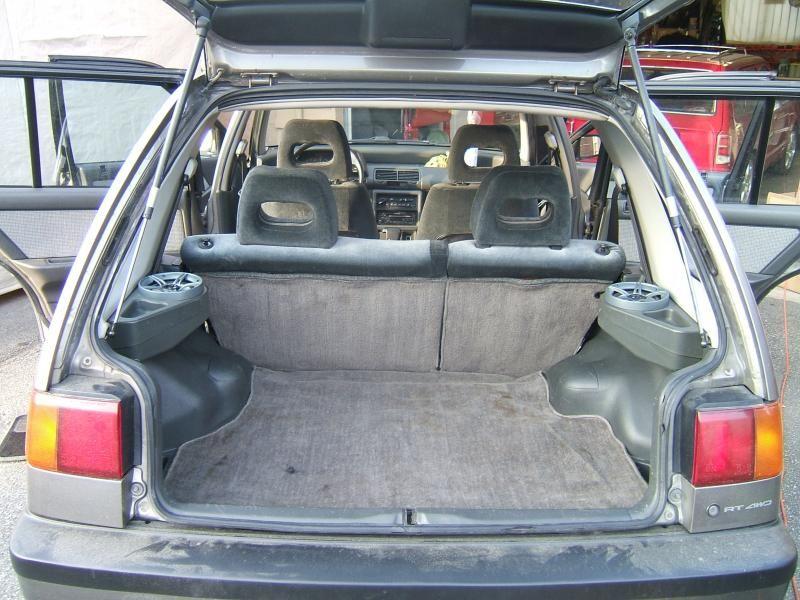 Trunk Ef Wagovan Honda Civic Civic Ef Honda