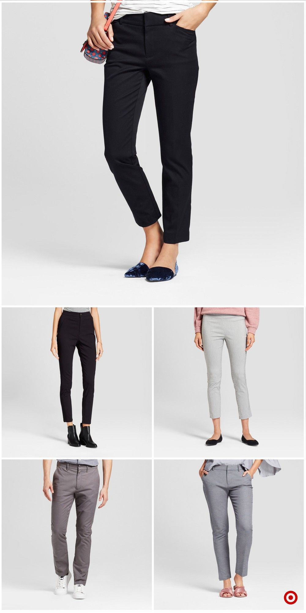 18307b9dfef Shop Target for fashion pants you will love at great low prices. Free  shipping on orders of  35+ or free same-day pick-up in store.