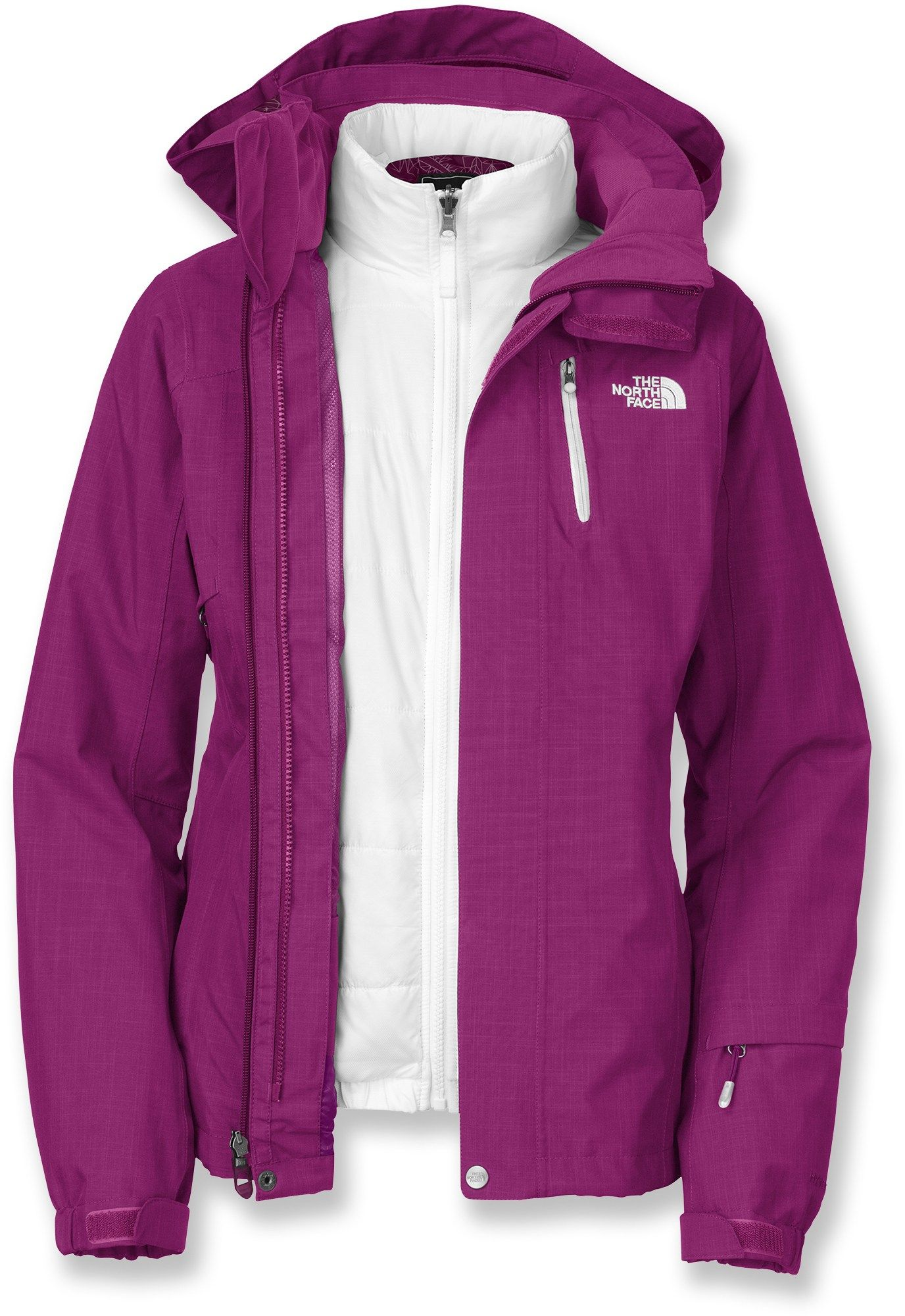 3eafdaaa0 Cheakamus Triclimate 3-in-1 Insulated Jacket - Women's | clothes ...