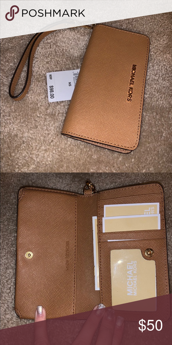 ef61dc5e2211 Authentic MK Wallet / Wristlet Authentic Michael Kors Wallet / Wristlet  Brand New With Tag Bags Wallets