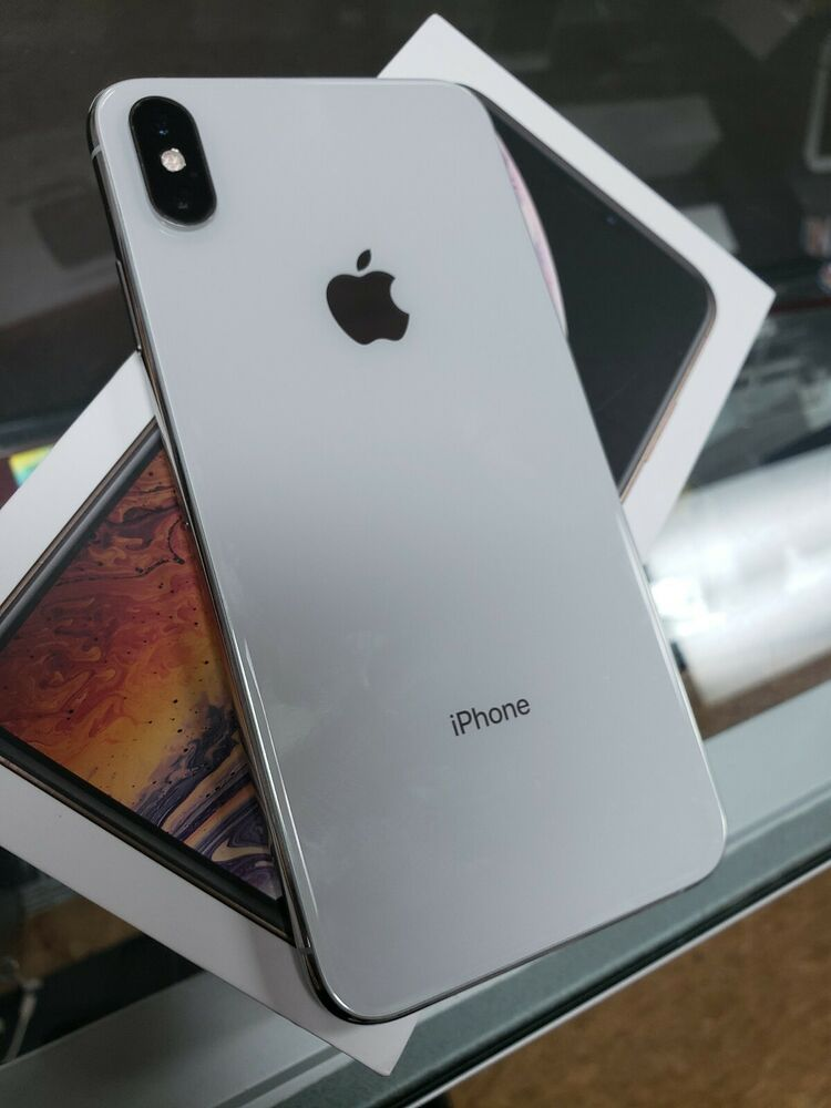 Apple Iphone Xs Max 512gb Silver Unlocked A1921 Cdma Gsm