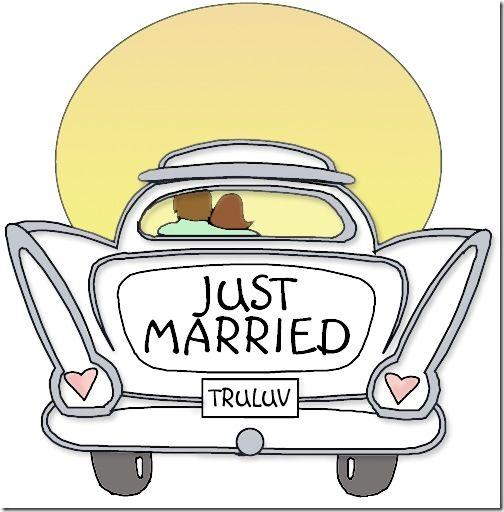 recien casados dibujos | Wedding | Pinterest