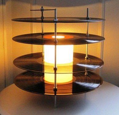 Sind Die Alten Schallplatten Im Keller Doch Noch Zu Gebrauchen   Lampe Aus  Vinylplatten Upcycle: Great Ideas