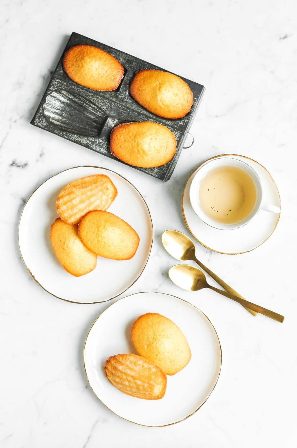 French Madeleine Recipe with step-by-step photos | Eat, Little Bird