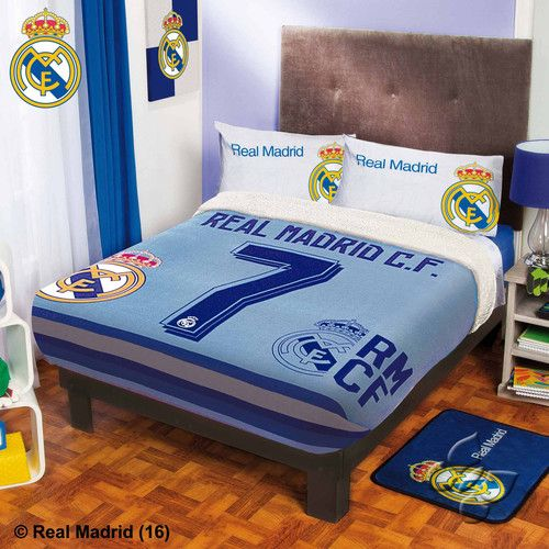 Real Madrid 40 Fuzzy Sherpa Fleece Blanket Real Madrid Pinterest Classy Real Madrid Throw Blanket