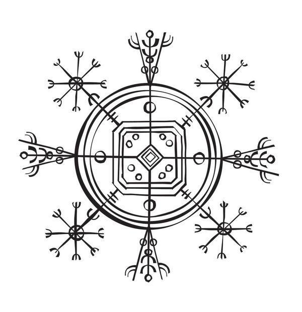 icelandic invisibility cloak magic signs icelandic tattoo artiste tatouage magique. Black Bedroom Furniture Sets. Home Design Ideas