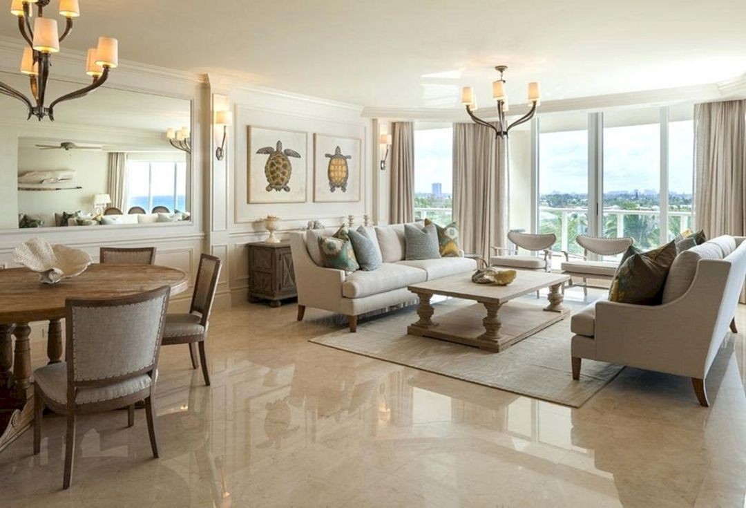 Awesome 25 Incredible Living Room Marble Floor Design Ideas H