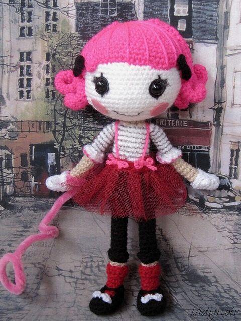Lalaloopsy crochet doll...