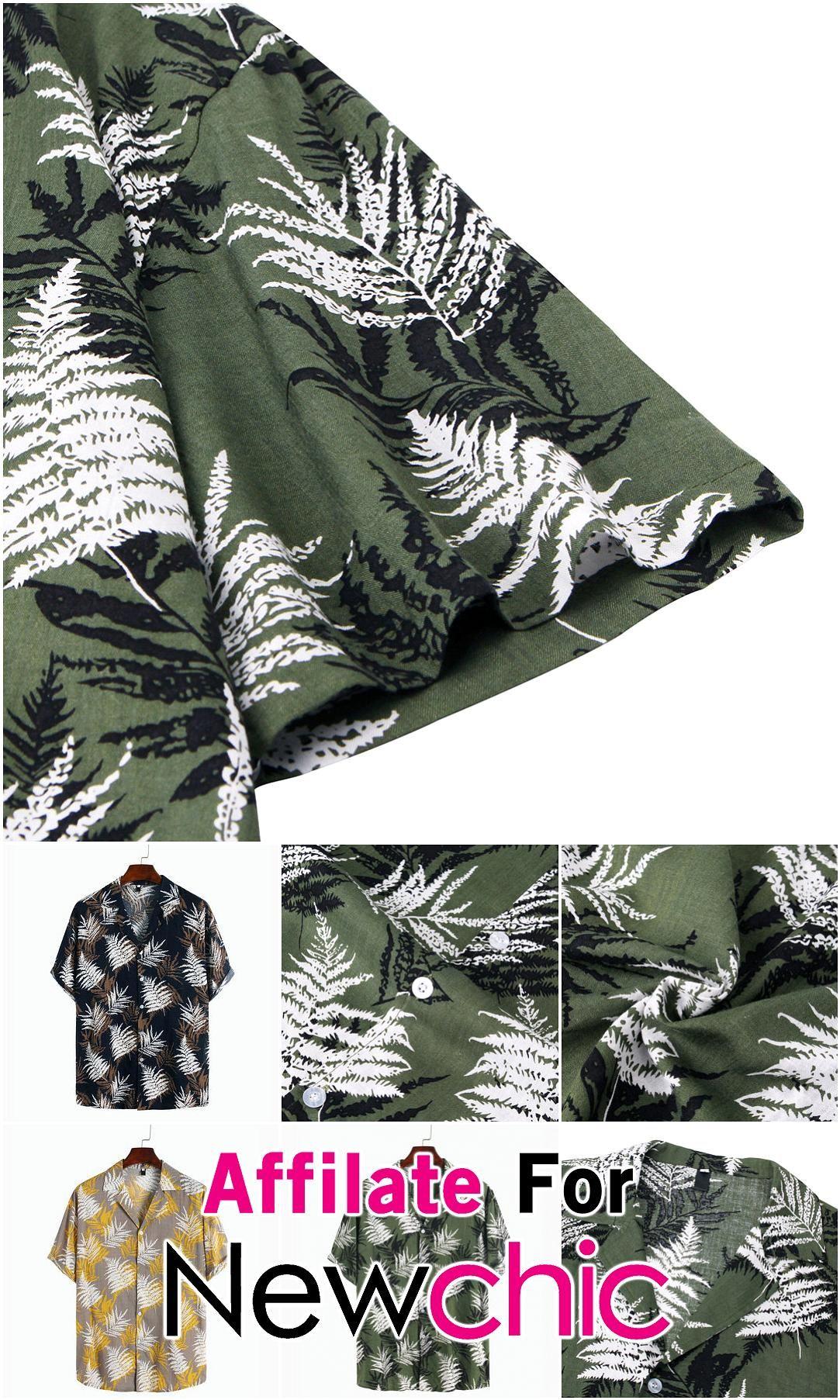 Mens Hawaiian Style Floral Printed Short Sleeve Turn Down Collar Shirts USD 1999 Mens Hawaiian Style Floral Printed Short Sleeve Turn Down Collar Shirts USD 1999 USD 3771...