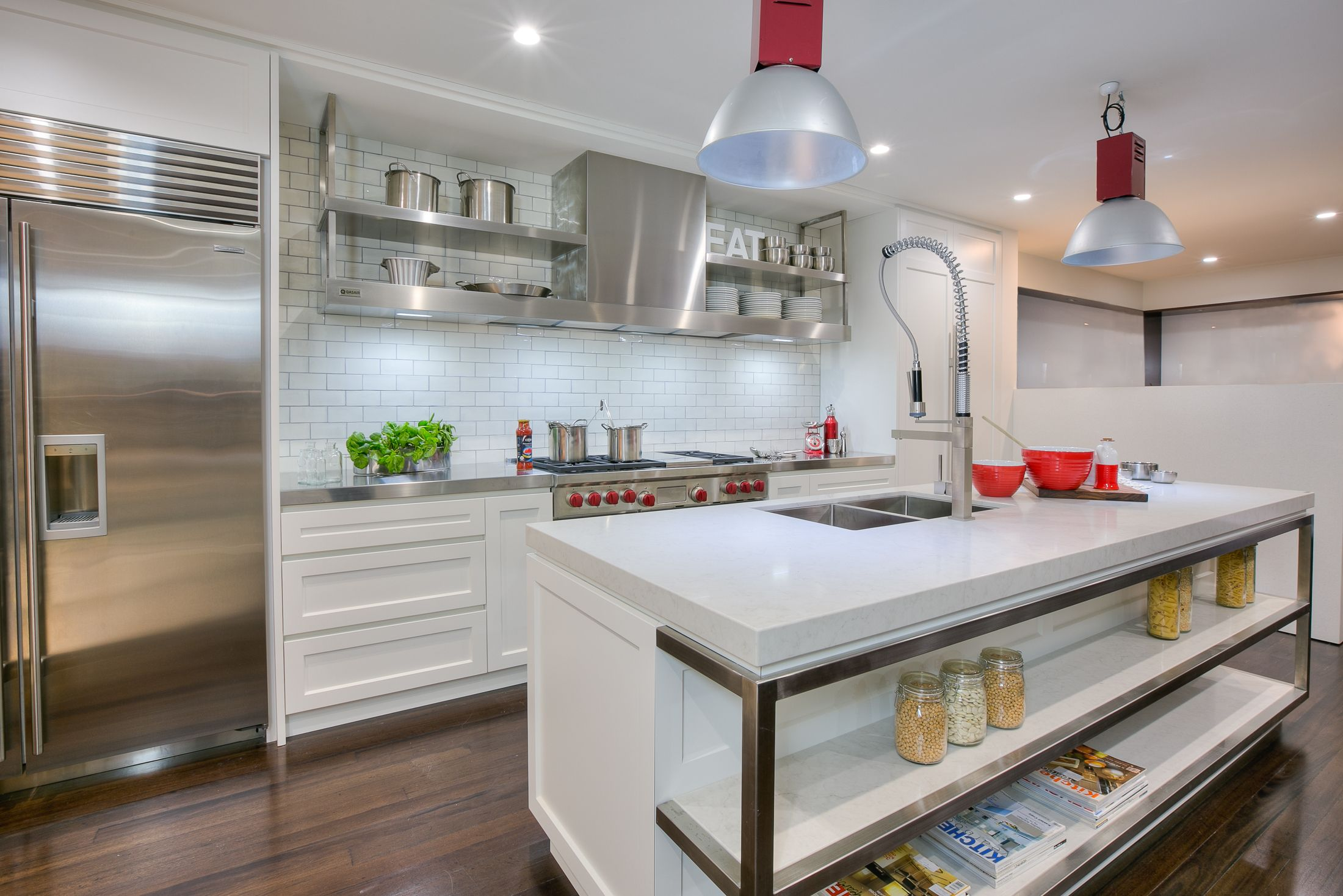 Uncategorized Kitchen Appliances Sydney the sub zero fridge wolf upright and that hood kitchen by kastell sydney
