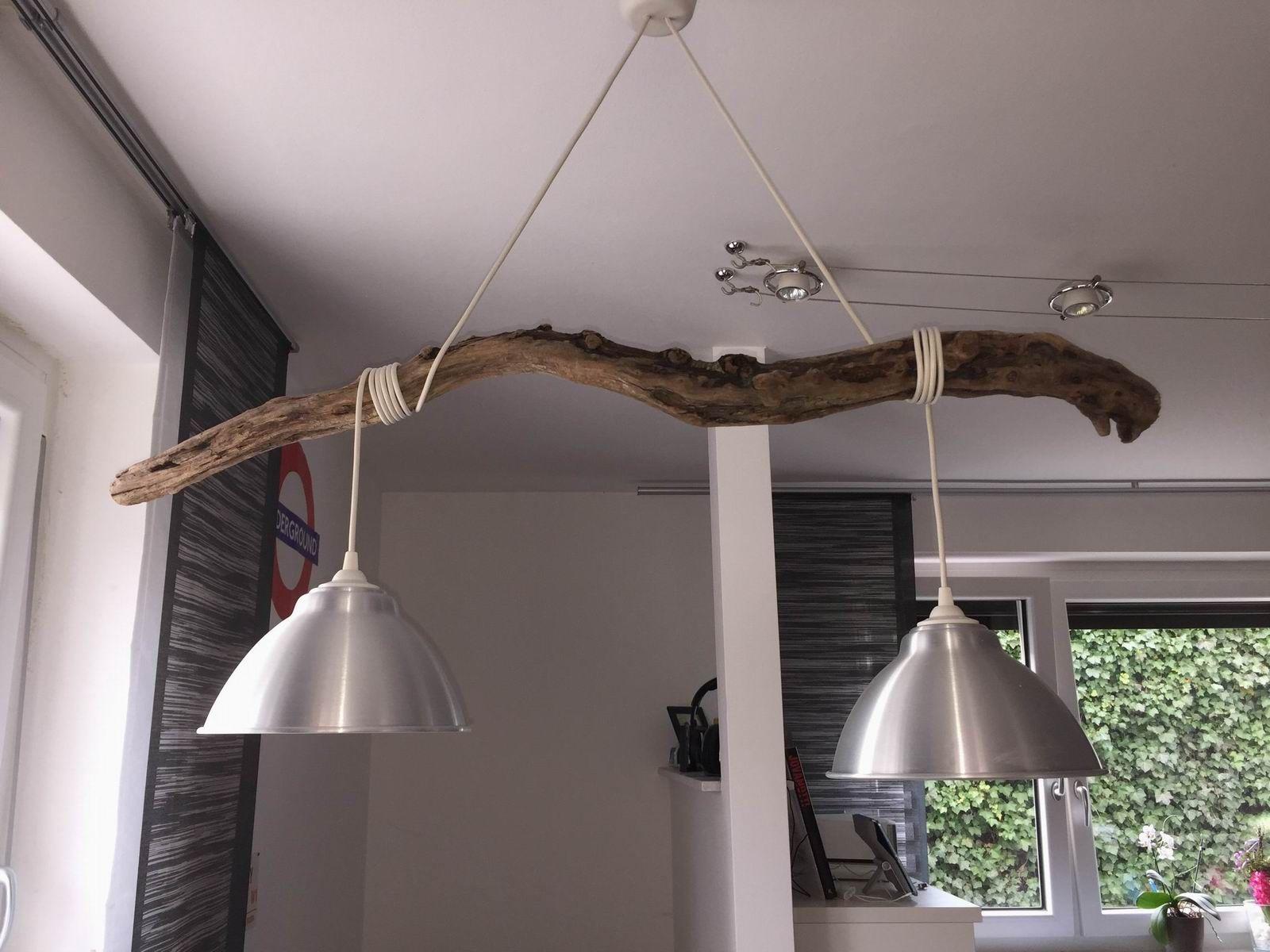 Küchenlampen Hängend ~ Lampe aus schwemmholz treibholz lampen pinterest treibholz