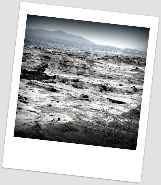 Atrapados por la imagen: Polaroid: Ischigualasto...