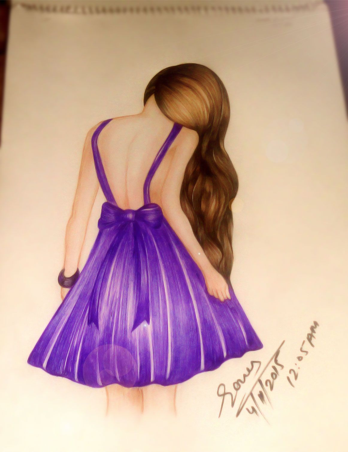 My Animated Baeautiful Girl Sketch Girl Sketch Dress Sketches Hot Dress