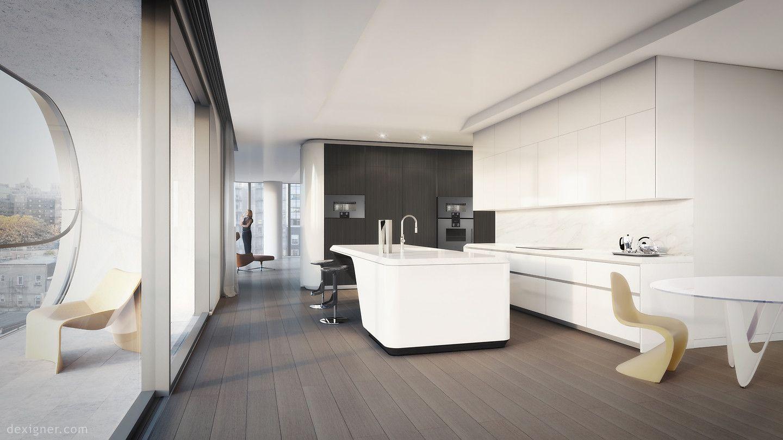 Peek Inside the Zaha Hadid-Designed Residences at 520 West 28th ...