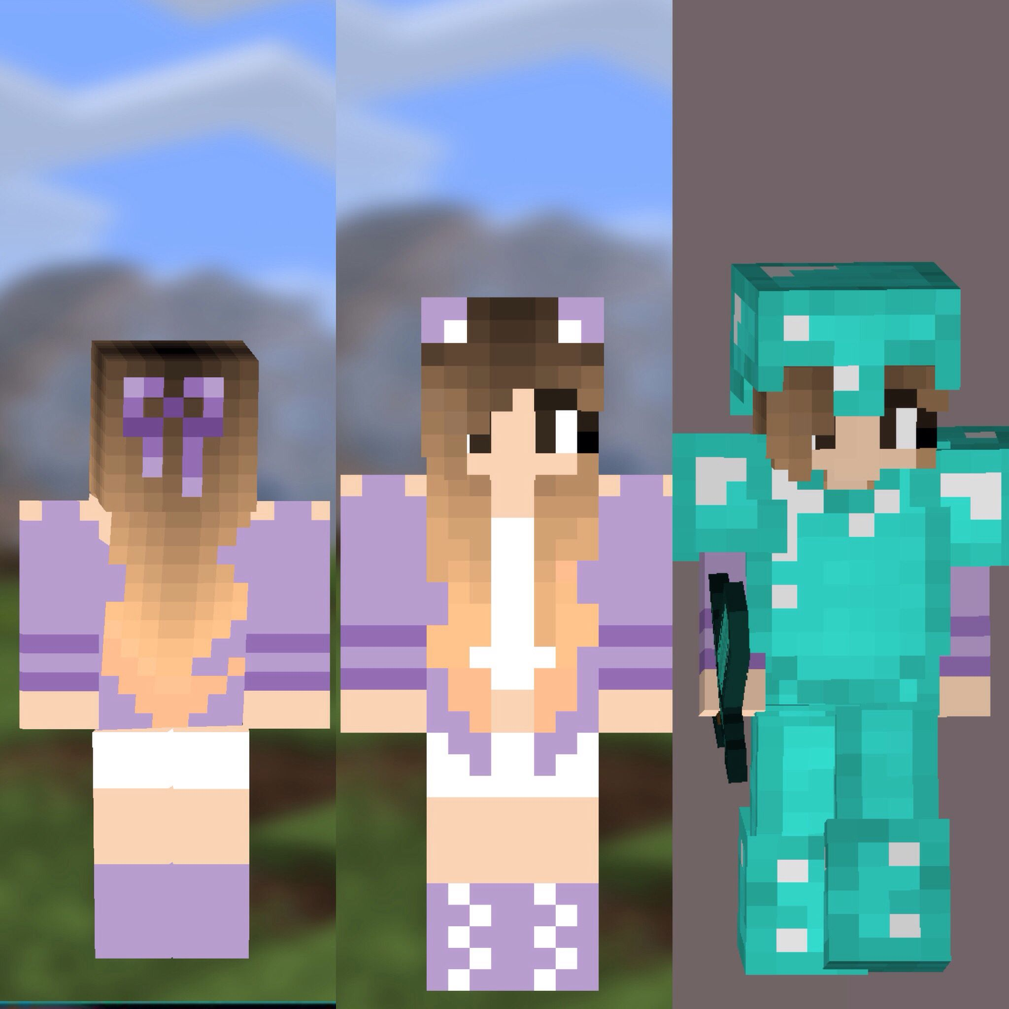 My Minecraft Skin in Minecraft PE. My Minecraft PE