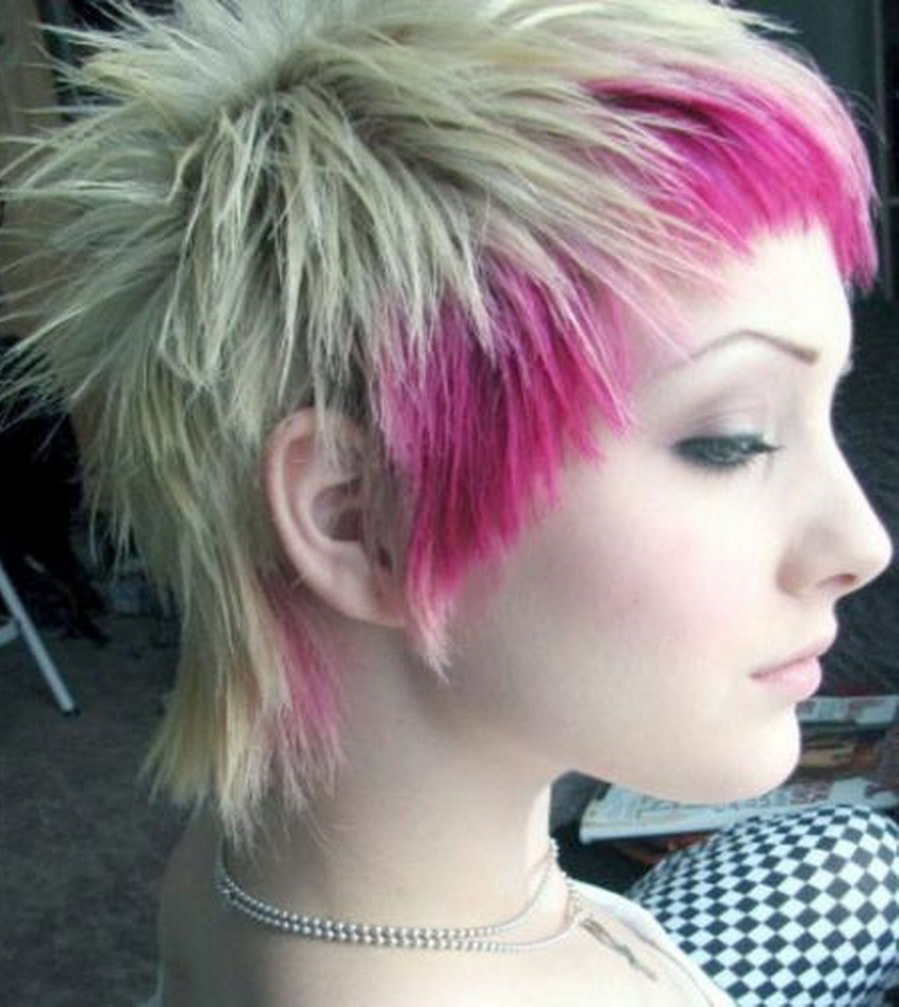 New blonde pink emo hairstyles hair trends wallpaper prom short
