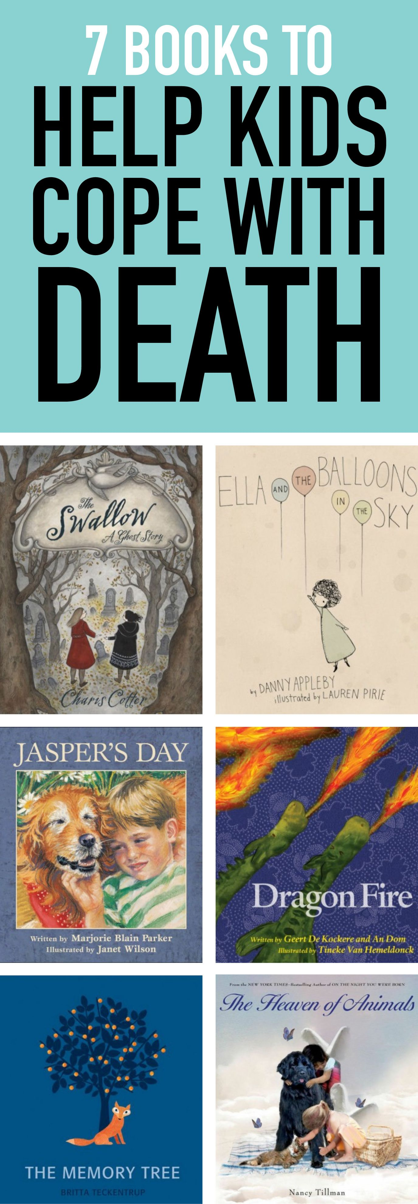 20 books to help kids cope with death todays parent