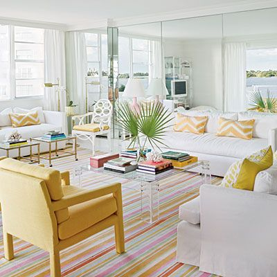 60 Bright Bold Rooms Yellow Living Room Happy Color