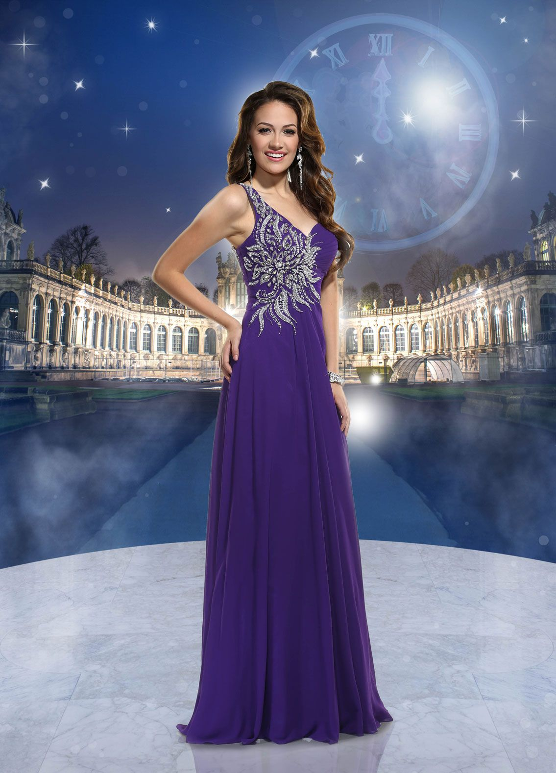 Disney forever enchanted prom dresses clothes pinterest prom