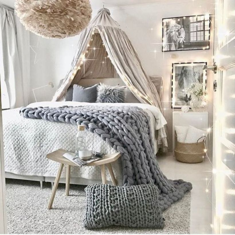 49 Easy and Cute Teen Room Decor Ideas for Girl images