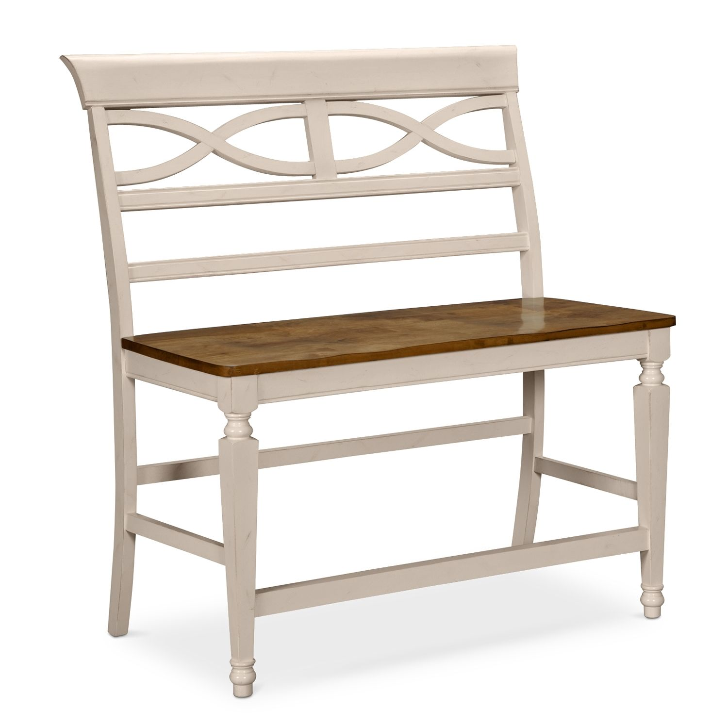 24999 Chesapeake II Dining Room Counter Height Bench