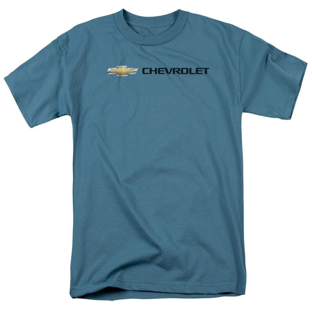 Chevy Chevy Bowtie Wide Front Adult Regular Fit T-Shirt