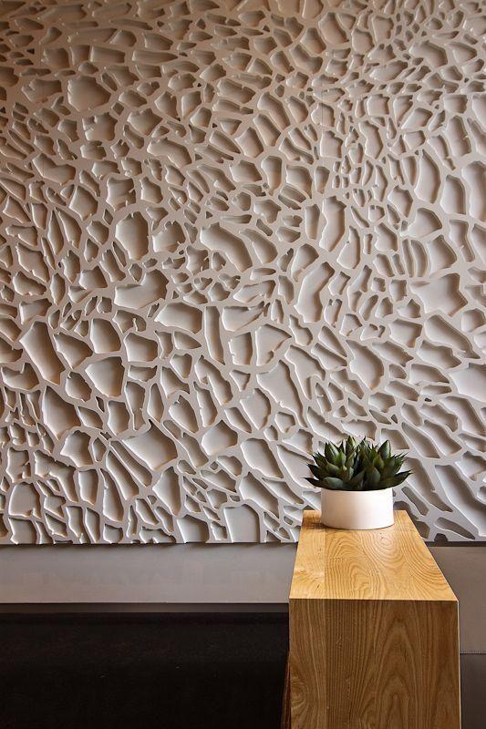 Imagem 8 texturas pinterest w nde paneele und architektur - Holzwand fliesen ...