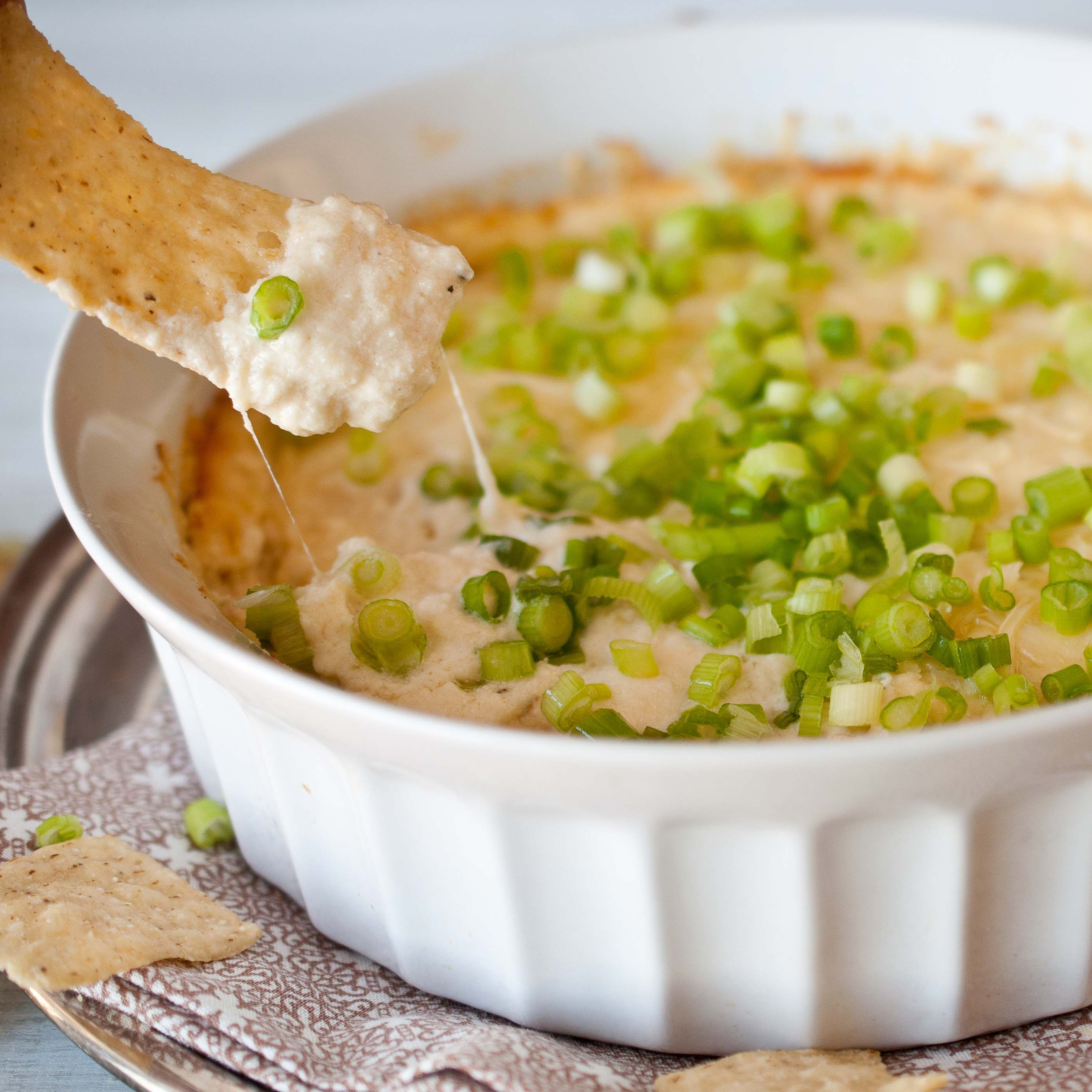 Roasted Garlic and Parmesan Beer Cheese Dip.