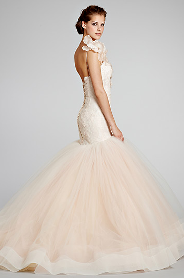 lazaro wedding dress... Something about this!   Here Comes the Bride ...