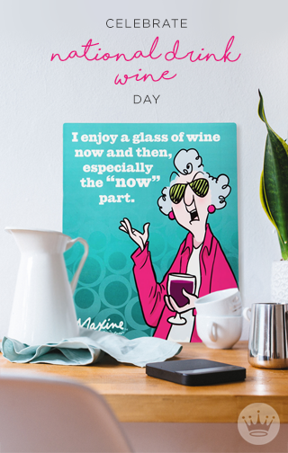 With National Drink Wine Day Right Around The Corner, Hallmark Has All The  Vino Themed Gifts You Need For Your Wine Loving Friends And Family.