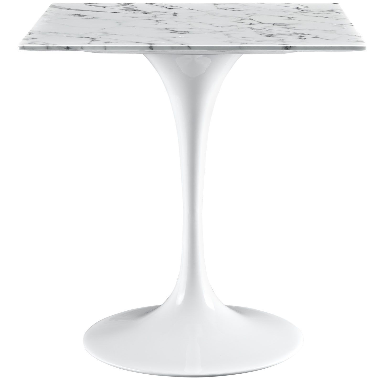 Marble Top Dining Table Square - Tulip 28 square marble top dining table