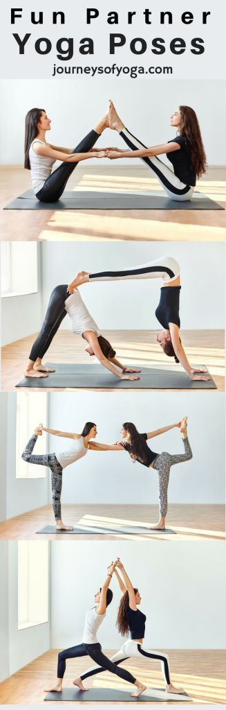 6 Fun Partner Yoga Poses to Try Today | Fitness Motivation ...