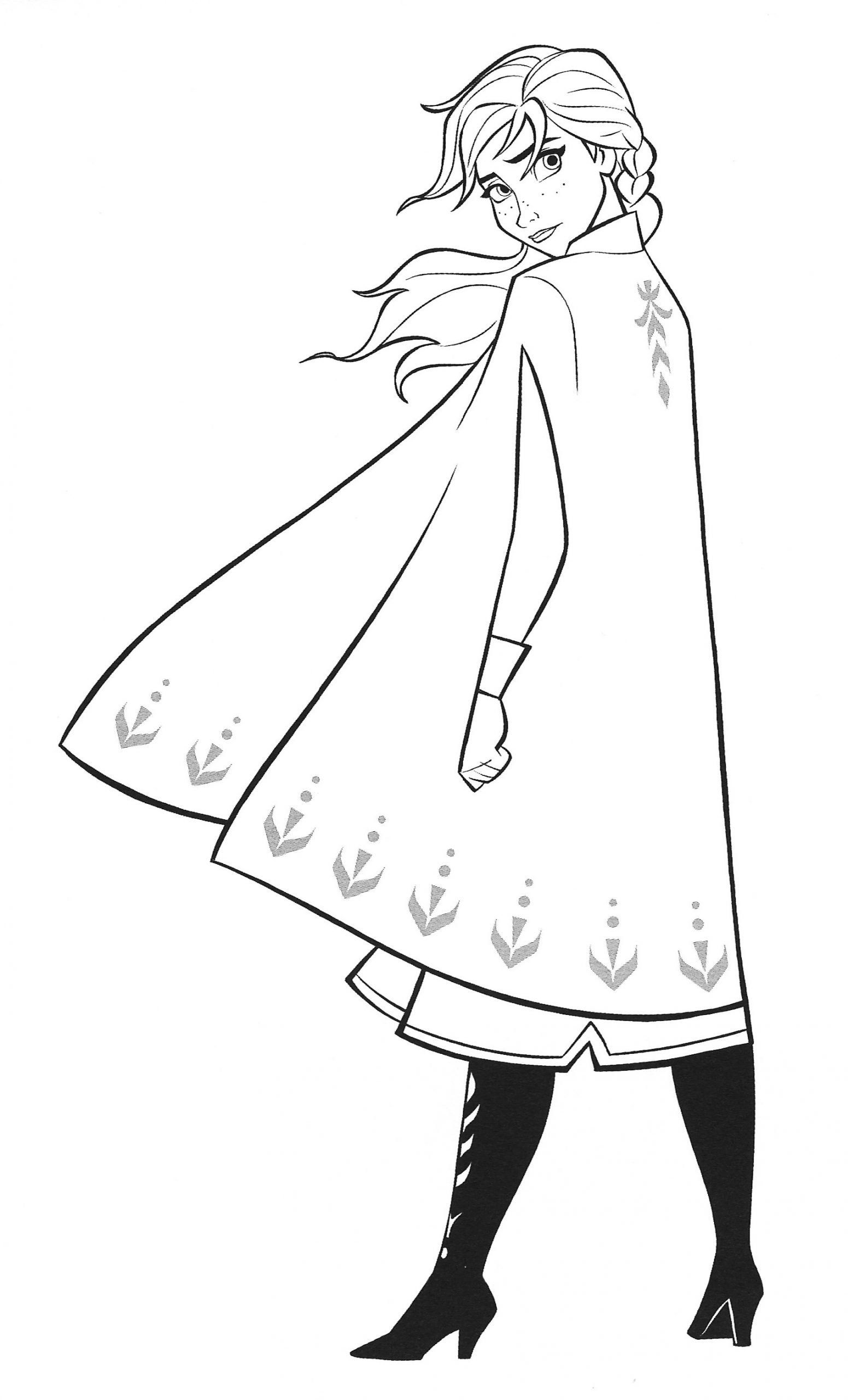 Coloring Pages Elsa And Anna New Frozen 2 Coloring Pages With Anna Youloveit Frozen Drawings Cartoon Coloring Pages Coloring Pages