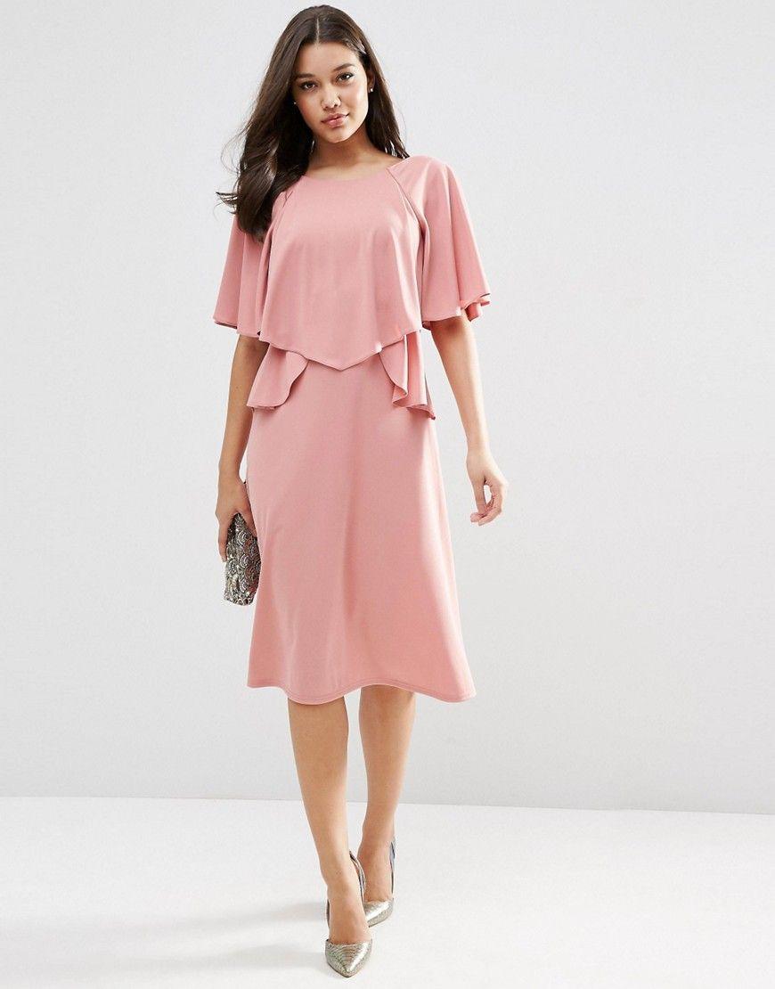 Image 1 of ASOS Full Soft Ruffle Midi Dress | ☆♡ My Dream Closet ...