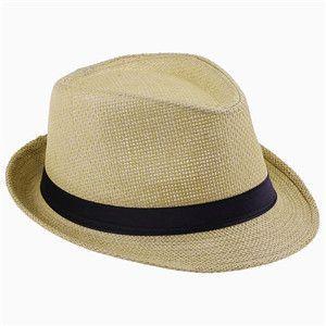 10 Color Children Summer straw Sun hat kids Boho Beach Sunhat Fedora hat  Trilby panama Hat handwork for boy girl Gangster Cap  c3f696deed4e