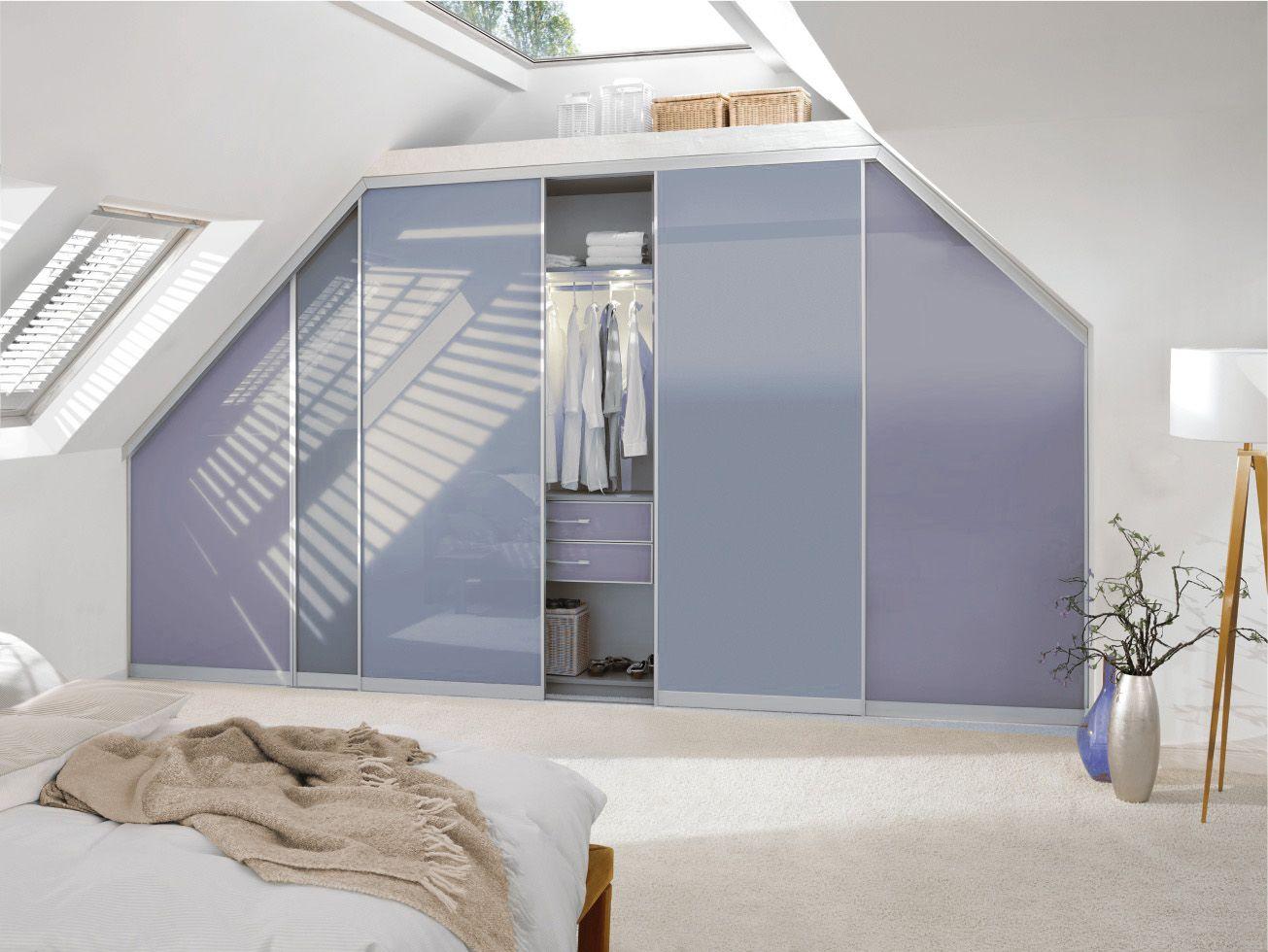 Einbauschrank Dachschräge CABINET | Dachschrägenschränke nach Maß ...