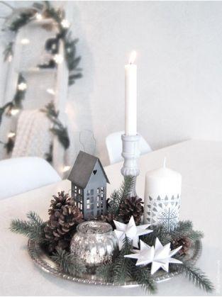 40 idées de décoration de Noel au style scandinave | More Mantels ...